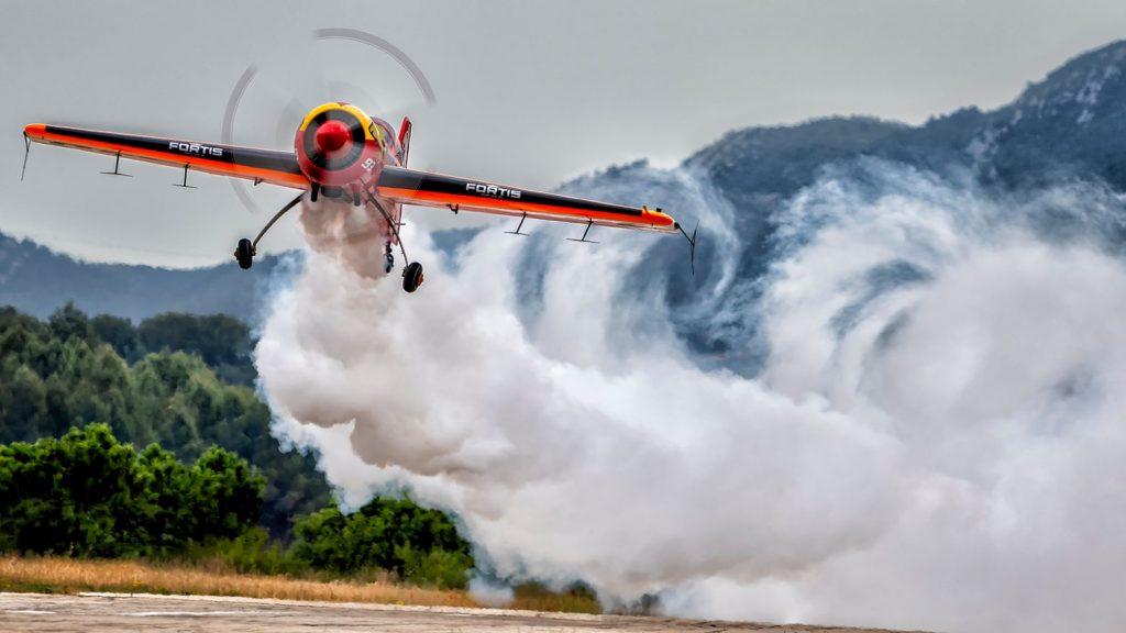 Fotografía de aviación deportiva