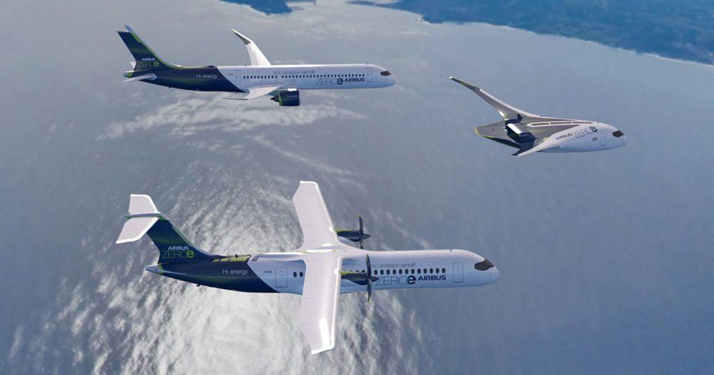 Aviones futuristas de Airbus