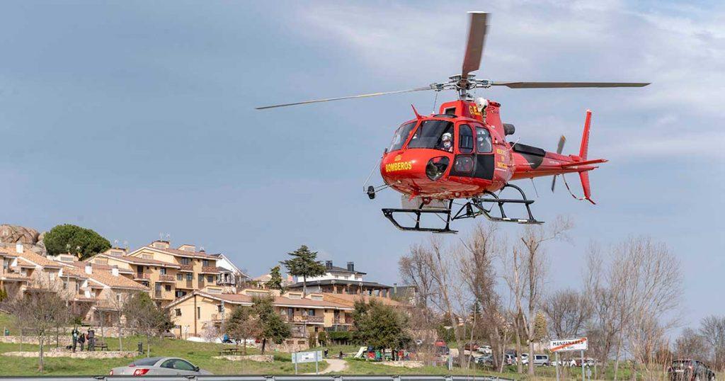 El sector de los helicópteros en España puede crecer con más operaciones nocturnas